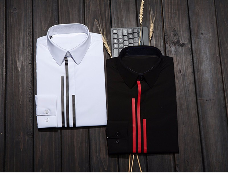 luxury Men dress shirt -5