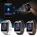 Wearable dispositivos u8 smartwatch dz09 deporte inteligente sim electrónica digital de muñeca reloj teléfono con hombres mujeres para apple android wach
