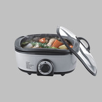 8 In 1 Crockpots 5L Kitchen Appliances Small Multivarka 220V Robot Cooking Machine New Multi Cookers