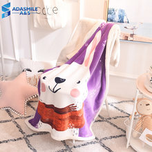 Children Cartoon Animal Blanket Winter Warm Baby Flannel Soft Fleece Composite Throws Bed Sofa Couch Kid Gift Throw and Blankets(China)