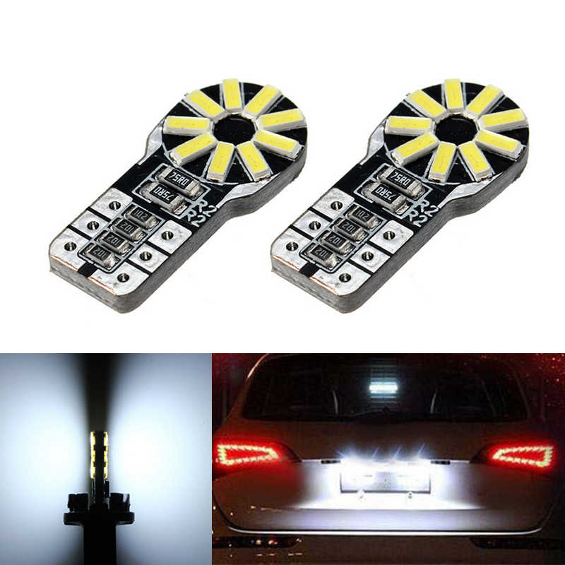 2x T10 W5W License Number Plate Light LED Bulbs Lamp For Honda Civic Accord Fit CRV City HRV