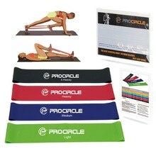 Procircle упражнения Эспандеры набор 11 уровней эластичная петля для фитнес пилатес тренировки Йога силовые тренировки