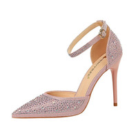 2019 Summer Women Pumps Bling High Heels Women Pumps Glitter High Heel Shoes Woman Sexy Wedding Shoes Gold Silver Party Shoes
