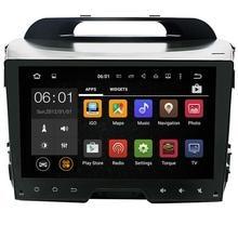 9 pulgadas 2 Din Android navegación gps del coche para KIA sportage r/Sportage 2010 2011 2012 2013 2014 2015 Del Coche de radio BT 3G Wifi de canbus