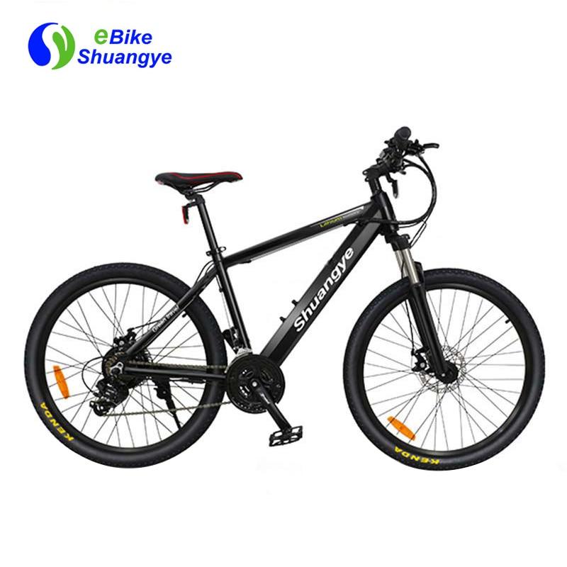 Shuangye 26 inch 36v hidden battery electric bike mountain bike