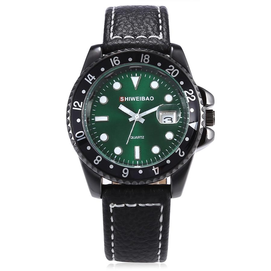 Classic Mens Watches Top Brand Luxury Quartz Watch Fashion Casual Watch Male Clock Wristwatches Quartz-Watch Relogio Masculino