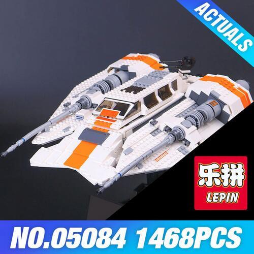 Lepin 05084 1468Pcs New  The Rebel Snowspeeder Set Children Educational Building Blocks Bricks Toys Model 10129