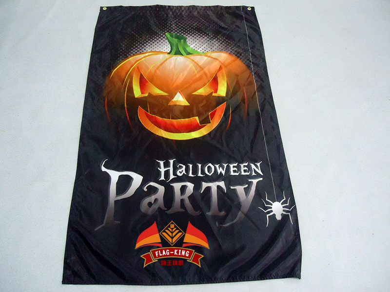pumpkin lantern flaghappy halloween day decorate 90150cm bannerchina