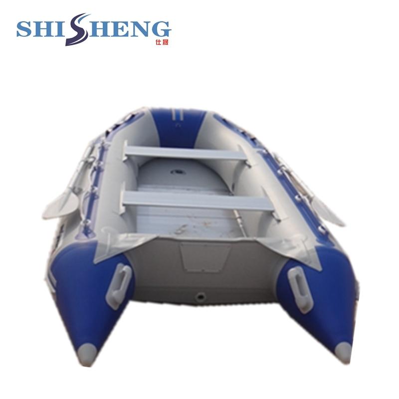Bote inflable de aluminio plegable de alta - Deportes acuáticos - foto 5