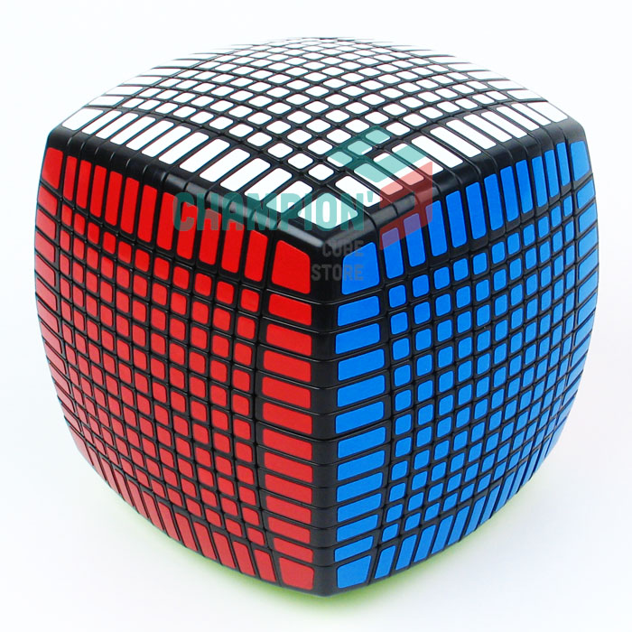 MOYU 13 Layers 13x13x13 Cube Speed Magic Puzzle Educational Cubo magico Toys (136mm) verrypuzzle clover magic cube speed twisty puzzle cubes game educational toys gifts for kids children
