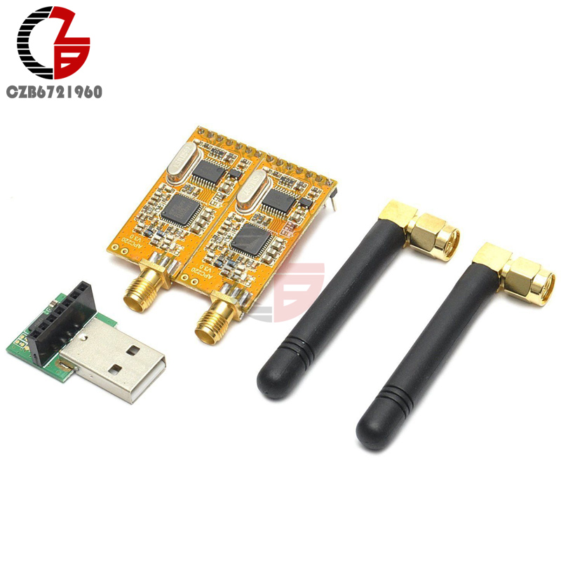 цена на 3.3V-5V Wireless RF Module Board APC220 Wireless Data Communication USB Converter Module Adapter Kit For Arduino