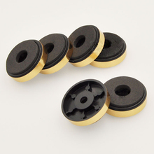 50pcs Power amplifier foot subwoofer sound shock pad feet increased moisture protection foot pad plastic feet