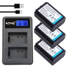 3 pc NPFW50 NP-FW50 NP FW50 Камера Батарея + двойной Зарядное устройство для SONY A5000 A5100 A7R A6000 5 т 5C 3N A7 NEX6 NEX7 NEX5TL NEX5R NEX5N