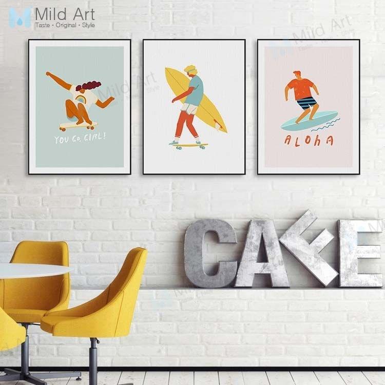 Duck Art Print Home Decor Wall Art Poster D