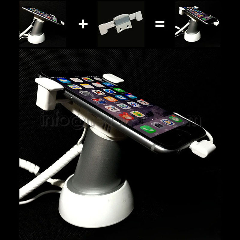 10x Mobile Phone Security Stand Tablet Display Holder Cellphone Burglar System Anti Alarm With Clamp Anti Theft For Retail Store mobile phone security stand tablet display alarm laptop burglar alarm ipad lock sensors holder retail pc anti theft device