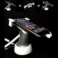 10x Mobile Phone Security Stand Tablet Display Holder Cellphone Burglar System Anti Alarm With Clamp Anti Theft For Retail Store