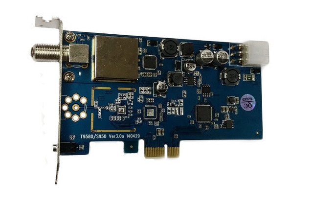 DVBSky T9580 PCIe DVB Tuner Drivers for PC