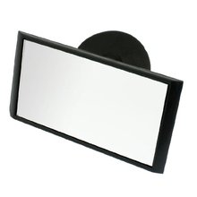Promotion! Suction Interior Driving Instructor Car Rear View Mirror Black