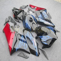 motorcycle Fairing for CBR1000RR 2004 2005 CBR 1000RR 04 05 blue flames body kit motorcycle article fairing Injection mold