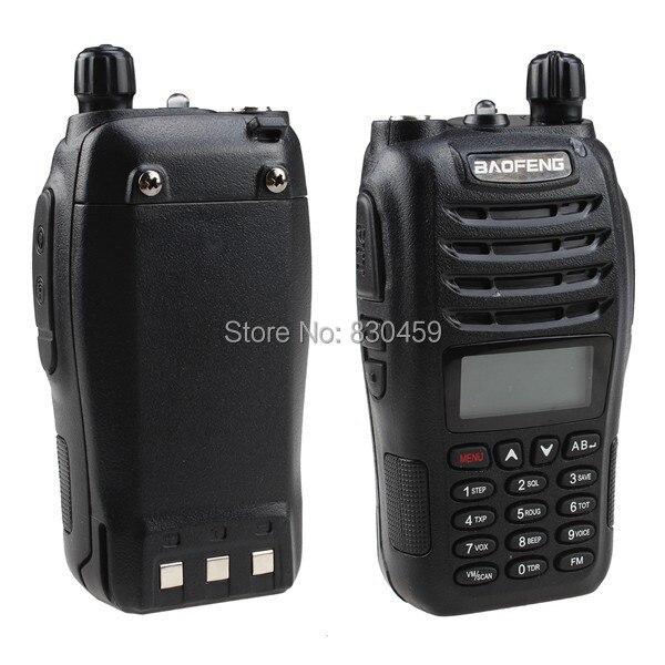 BaoFeng double bande bidirectionnelle Radio 136-174 MHz & 400-470 MHz talkie-walkie + écouteur gratuit + antenne vhf uhf