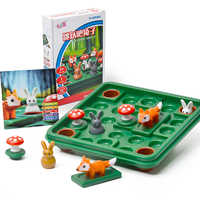 60 desafio com solução crianças brinquedos saltando coelho raciocínio lógico jogo inteligente família iq jogos de tabuleiro brinquedo interativo brinquedos