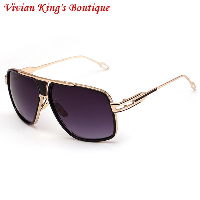 4dcc9ff6bcf63 IMAKEFASHION Estilo Óculos De Sol para Homens e Mulheres de Grandes  Dimensões Do Vintage Óculos Marca Designer Gafas De Sol óculos De Sol Do  Vintage Do ...
