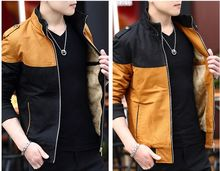 YSMILE Y #26  2017 spring and autumn season new men's thin jacket Korean youth Winter cashmere thickening day jacket clothes
