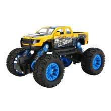 Metal Diecast Alloy Truck SUV Model Car Off-Road Vehicle Climbing Car Pull Back Sliding Car Toy Educational Toys For Boys Kids 1 43 a3 sportback suv high end metal model car diecast vehicle parts van several colors