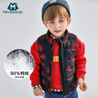 Autumn Winter Fashion Baby Boys Vest Children's hooded vest Children Warm Outerwear Coat Waistcoat For Girls Vest