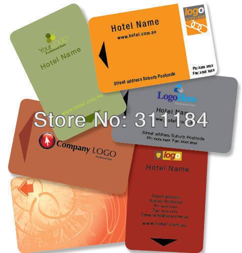 Personnalis Standard En Plastique Carte Puce Sans Contact RFID