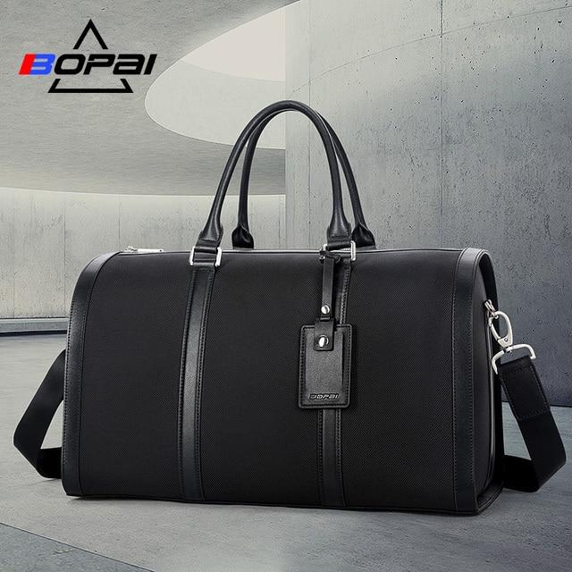 c1c604465b BOPAI Waterproof Oxford Travel Bags for Men Business Fashion Male Duffle Bag  On Board Flight Women