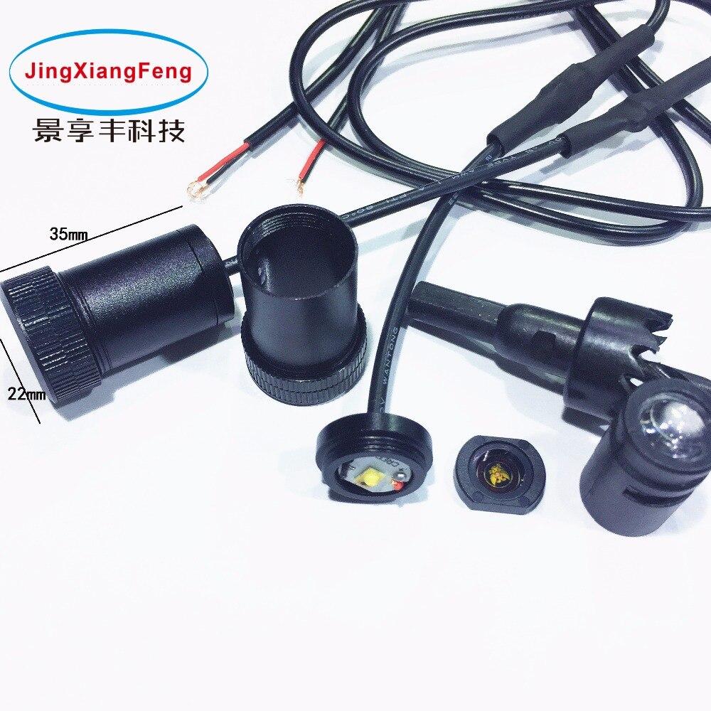 JXF Kasus Untuk Suzuki Chrysler Subaru GMC Peugeot Skoda LED pintu - Lampu mobil - Foto 4