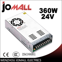 350W 12V 30A LED Strip CNC 3D Print Small Volume Single Output Switching Power Supply