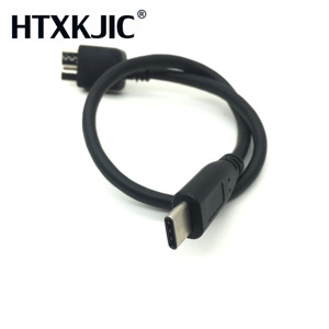 Image 3 - USB 3.1 Type C إلى USB 3.0 مايكرو B كابلات الموصلات للقرص الصلب هاتف خلوي هاتف ذكي