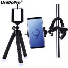 Flexível polvo perna titular do telefone smartphone acessório suporte móvel tripé para samsung galaxy s20 s10 s9 s8 s7 borda s6