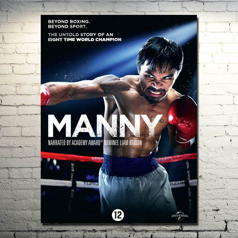 Manny Pacquiao Boxing Movie 2015 Art Silk Poster 13x18 24x32inch (NEW) 01 image