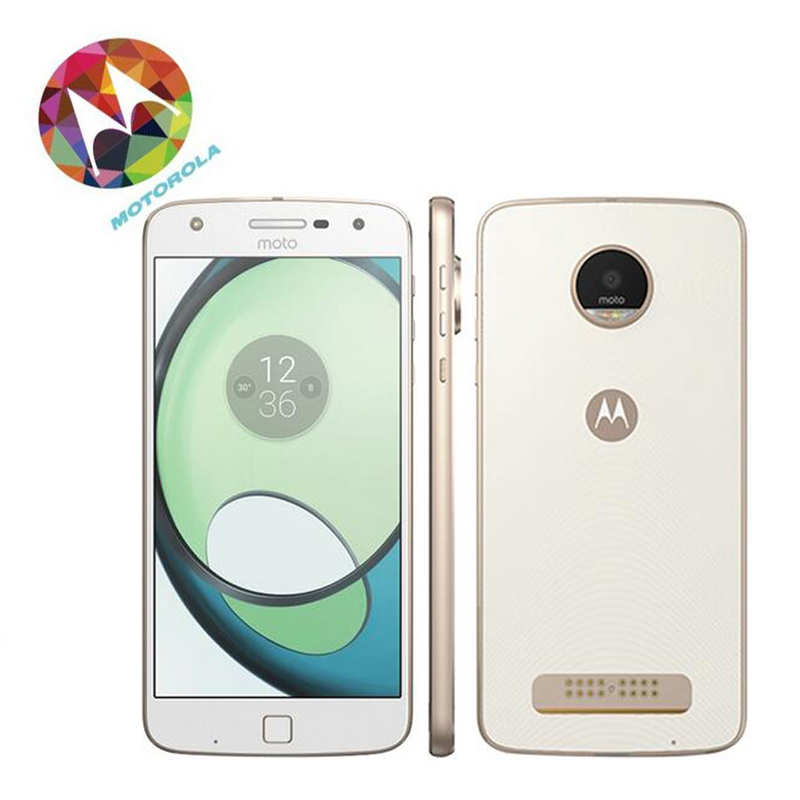 Original New Motorola MOTO Z Play LTE Phone 3G 64G 5.5'' 1920*1080P Android6.0 Octa Core 2.0GHz 16MP Camera Touch ID XT1635-03