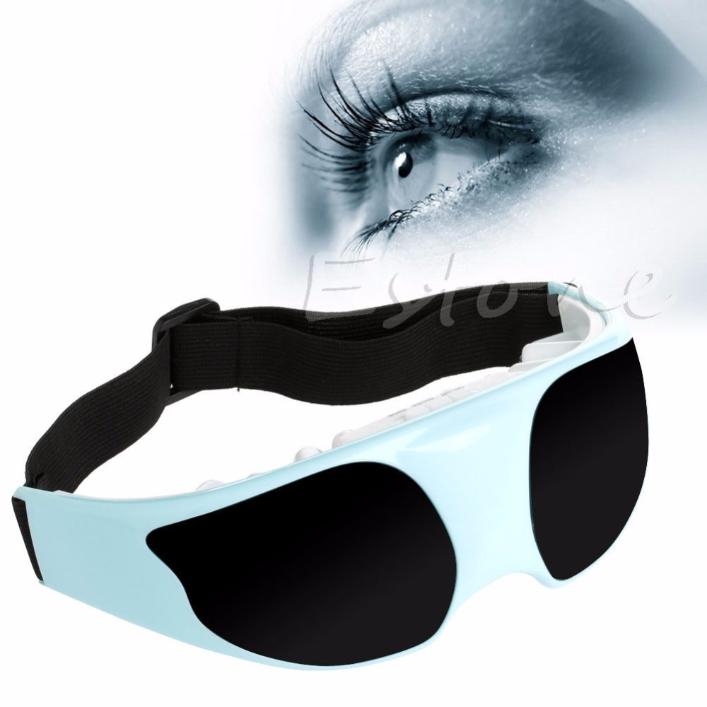 New Health Electrical Eye Magnetic Alleviate Fatigue Care Relax Massager Forehead electric magnetic eye mask eye massager alleviate fatigue health eye care relax massager relieve stress to improve vision