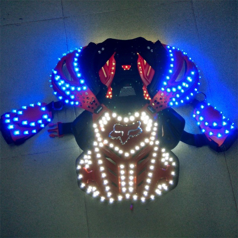 LED armor costumes 012