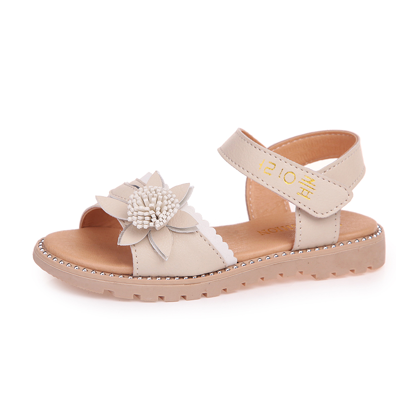 COZULMA Kids Sandals for Girls Flowers Roman Style Shoes Children Summer Shoes Girls Princess Outdoor Soft Bottom Beach SandalsCOZULMA Kids Sandals for Girls Flowers Roman Style Shoes Children Summer Shoes Girls Princess Outdoor Soft Bottom Beach Sandals