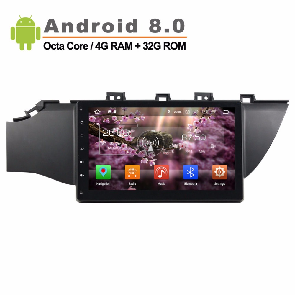 10,1 zoll <font><b>Android</b></font> <font><b>8.0</b></font> Rockchip <font><b>PX5</b></font> Cortex A53 Octa Core Auto GPS Navigation für KIA K2 Audio Video Player <font><b>4g</b></font> <font><b>RAM</b></font> + <font><b>32g</b></font> <font><b>ROM</b></font> image