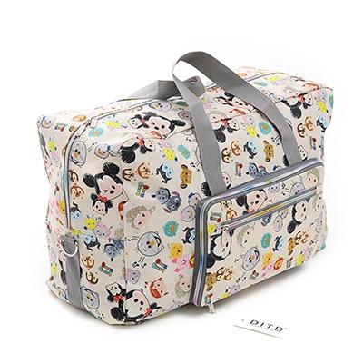 Travel Luggage Duffle Bag Lightweight Portable Handbag Creative Perspective Pattern Large Capacity Waterproof Foldable Storage Tote