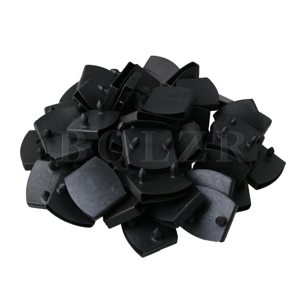 BQLZR Plastic Double Centre Caps Holders Replacement for Holding and Securing Wooden Slats on The Bed Base Pack of 50BQLZR Plastic Double Centre Caps Holders Replacement for Holding and Securing Wooden Slats on The Bed Base Pack of 50