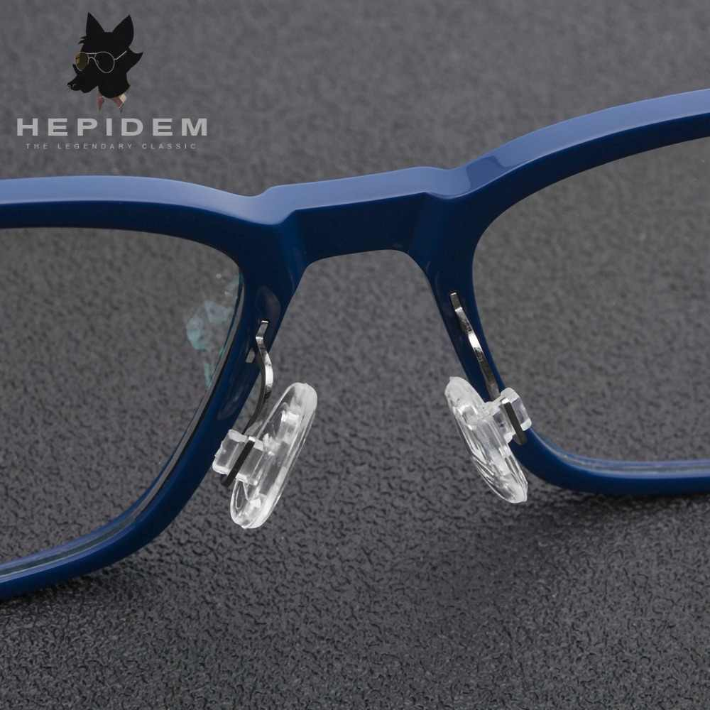 dc905b21ecf ... Acetate B Titanium Glasses Frame Women Ultralight Prescription  Eyeglasses Men 2018 Myopia Optical Screwless Eyewear ...