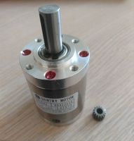 5:1 NEMA17 Planet Gearbox 42mm Diameter Planetary Reducer for 775 DC motor shaft 3.175mm