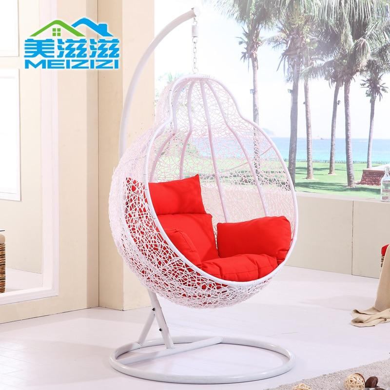Rocking chair swing hanging basket flattered gourd hanging basket ...
