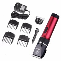 Electrical Pet Hair Trimmer Clippers Grooming Haircut Shaver Machine Rechargeable Dog Hair Cutting Pet Grooming Tool Set