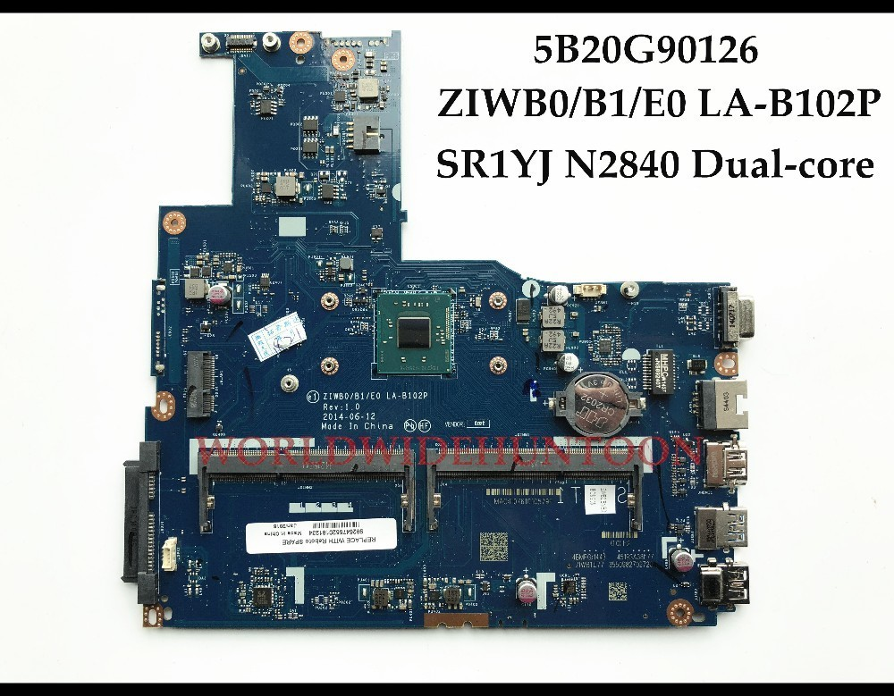 Brand New for Lenovo B50 30 Laptop Motherboard ZIWB0 B1 E0 LA B102P 5B20G90126 SR1YJ N2840