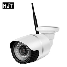 HJT HD 720P Micro SD Card Wireless Wifi IP Camera IR Night Vision Surveillance CCTV Outdoor Network P2P ONVIF Remote View H.264