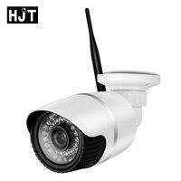 HJT HD 720P Micro SD Card Wireless Wifi IP Camera IR Night Vision Surveillance CCTV Outdoor Network P2P ONVIF Remote View H.264